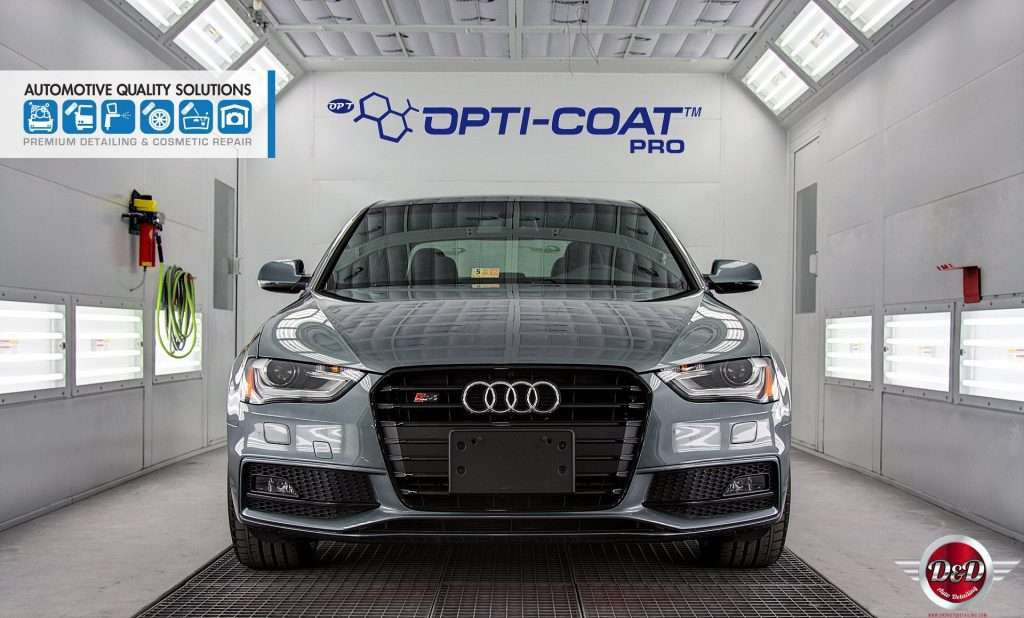 An Audi S4 Detailed and Opti-Coat treated by AQS and D&D Auto Detailing