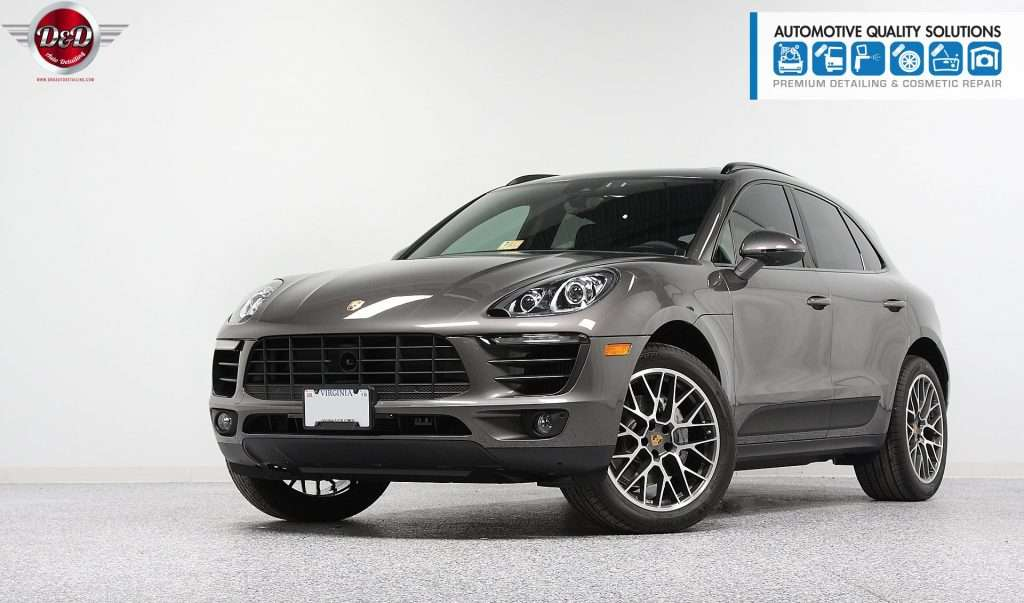 A Porsche Macan S Detailed and Opti-Coat treated by AQS and D&D Auto Detailing