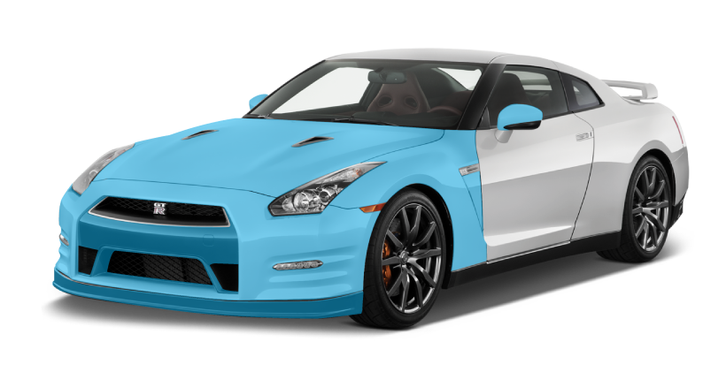 XPEL Coverage - AQS Platinum Package on a 2015 Nissan GT-R