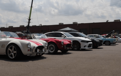 The Perfect Blend of Cars, Cigars, and Automobile Enthusiasts